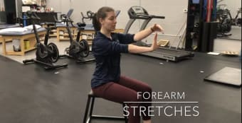 #FitnessFriday Ι Forearm Stretch