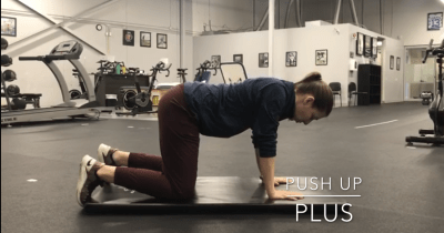 #FitnessFriday Ι Push Up Plus
