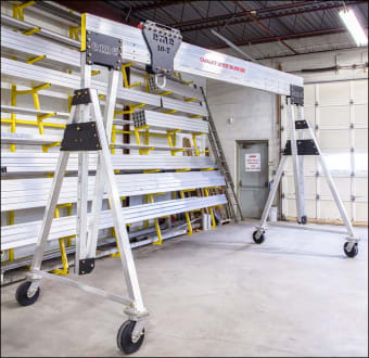 The World's First 10 Ton Portable Aluminum Gantry Crane