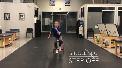 #FitnessFriday Ι Single Leg Step Off