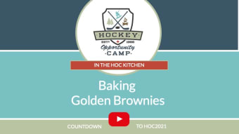 In the HOC Kitchen: Baking Golden Brownies