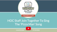 Staff 'Sing-A-Long' to Pizza Man Song