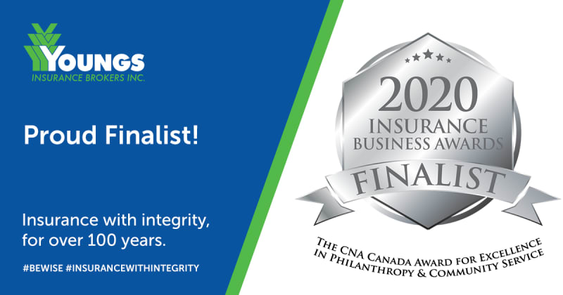 PRESS RELEASE  |  Youngs Insurance Selected as Finalist for Excellence in Philanthropy...