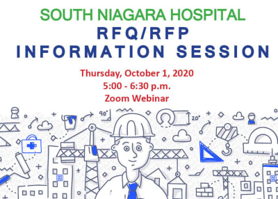 South Niagara Hospital RFQ/RFP Information Session