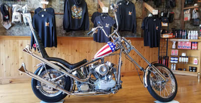 Captain America Replica Motorcycle from Easy Rider