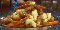Spicy Sweet Potato Poutine