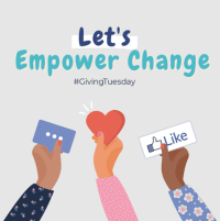 Giving Tuesday: December 1st, 2020