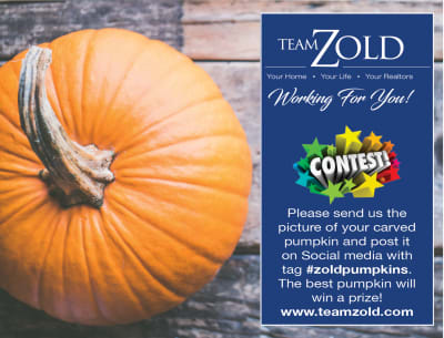 Team Zold Pumpkin Contest!