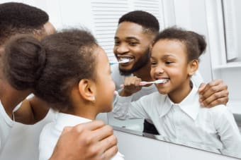 Brushing & Flossing Tips for Kids & Parents
