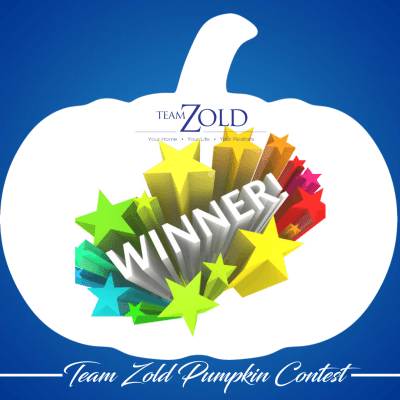 Team Zold Pumpkin Contest Winners
