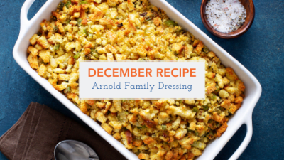December - Arnold Family Stuffing