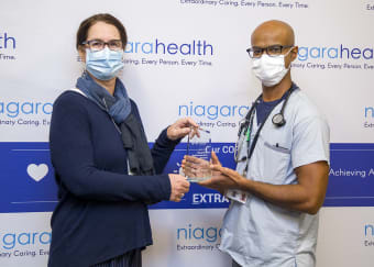 Niagara Health recognized for promoting organ and tissue donation