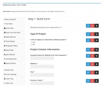 Introducing: The New Form Builder App!