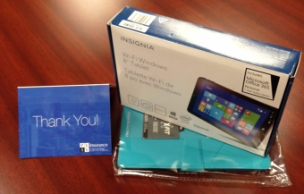 Win a Windows Tablet!