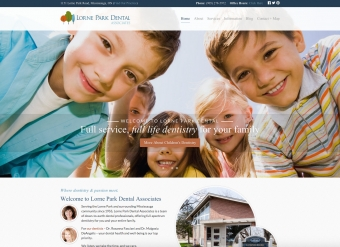 Welcome to the new Lorne Park Dental Website!