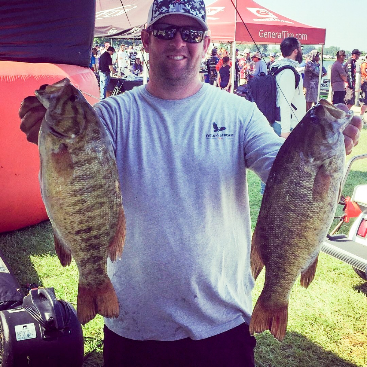 On the water and behind the scenes at the recent FLW Tour Lake St. Clair