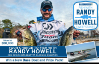 Have you ever wanted to fish with the Rod Glove's Elite Randy Howell?