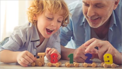 5 Math Games for Children at Home