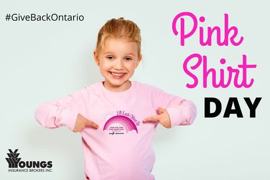 Giving Back | Pink Shirt Day | February 24, 2021