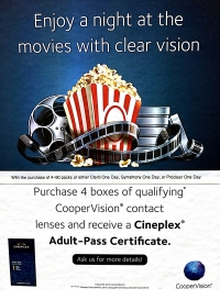 Enjoy at Night at the Movies With Clear Vision
