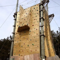New for the Summer 2016: Outdoor Climbing Tower