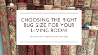 Choosing The Right Rug Size For Your Living Room