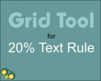 Frustrated with the 20 percent text rule - check it here