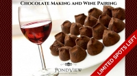 Chocolate Making Workshop and Wine Pairing Event  SOLD OUT!!