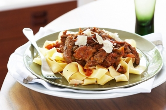 Slow-Cooked Lamb Ragu