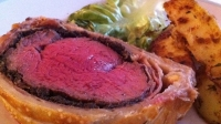 Beef Wellington with Seasons Meritage Reserve
