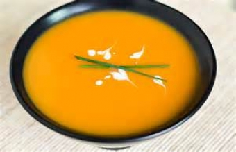 Carrot and Ginger Soup with Viognier