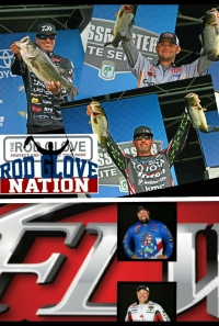 Rod Glove Pro Bass Elites, Rod Glove Pro FLW Touring, Bassmaster vs FLW Tournament series