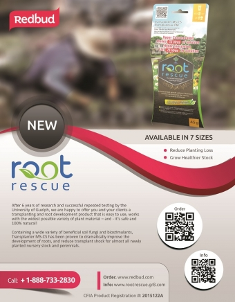 Root Rescue Enters the Marketplace at the Landscape Ontario Congress Show 2016
