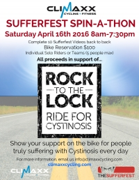 Sufferfest Spin-A-Thon At Climaxx Cycling & Fitness