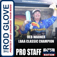 Even being struck by lightning won't stop The Rod Glove Pro Staff and LBAA, Debbie Chadwick Warner
