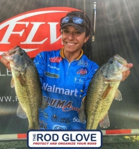 The Rod Glove Pro Staff and FLW Walmart Touring Nicole Jacobs, Inspiring others to live their dreams and passions