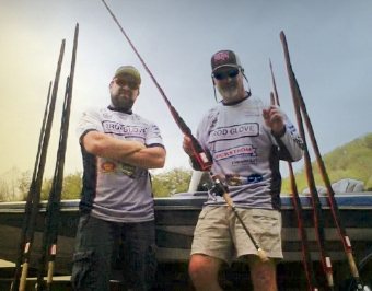 The thrill of catching musky with The Rod Glove Pro Staff Musky Tournament Anglers Nick Filip and Aaron Laking
