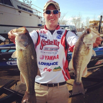 Following in his Father's footsteps, The Rod Glove Pro Staff, Chase Aulidge