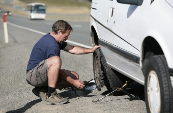 Roadside Safety - Changing a Blown Tire