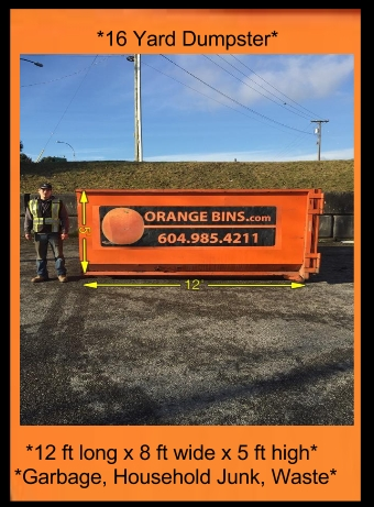 Orange Bins Delivers Disposal Bins In Vancouver