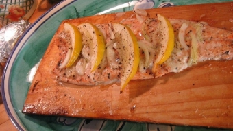 Cedar Plank Salmon with a FRESH Perspective!