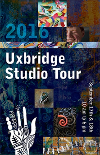 We're Site #24 for the Uxbridge Studio Tour 2016!