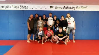 Wrestling for Brazilian jiu Jitsu Clinic A Smashing Succes
