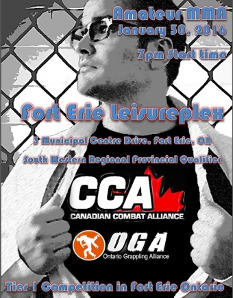 SBG Niagara Competition Team Making It's Ontario Amateur MMA Debut