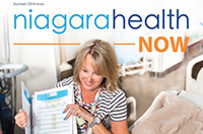 Niagara Health Now Summer 2016 Edition