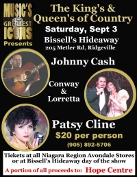 The Kings and Queens of Country - this weekend