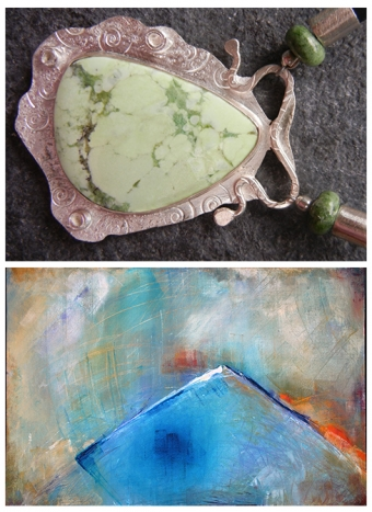 2016 Guest Artists: Jeweller Jeannine Rosenberg & Painter Carolyn Bather