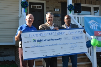Habitat Home Build Complete!