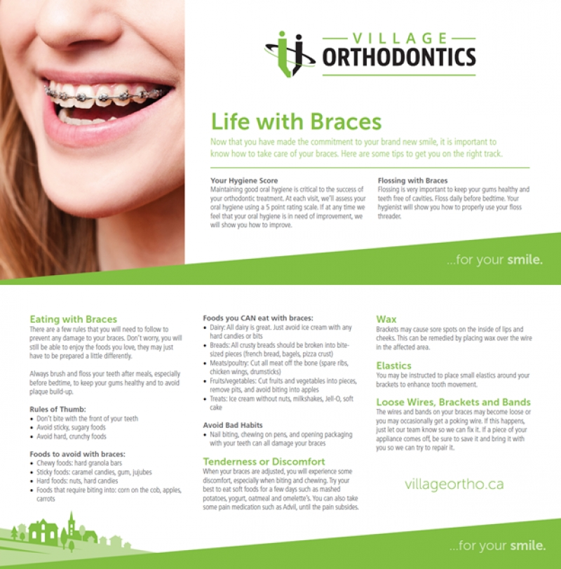 Life With Braces Village Orthodontics Blog