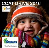 Donate a coat & warm a heart this winter.